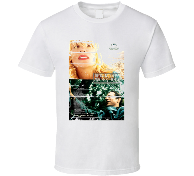 The Diving Bell and the Butterfly 90s Throwback T Shirt