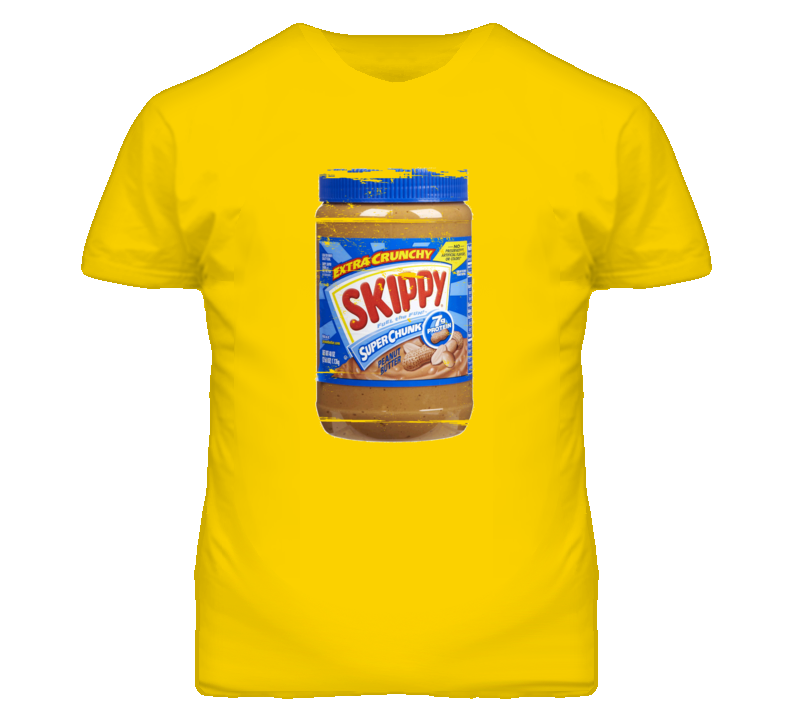 Skippy Squeeze It peanut butter 90s Throwback T Shirt