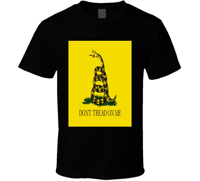 Don't Tread on Me Gadsden Flag T-shirt