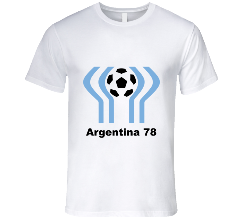 Argentina 78 World Cup Football Tshirt