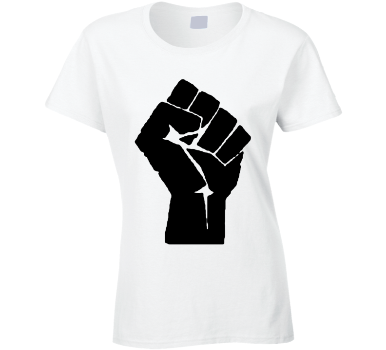 Black Panther Fist Black Lives Matter T-shirt