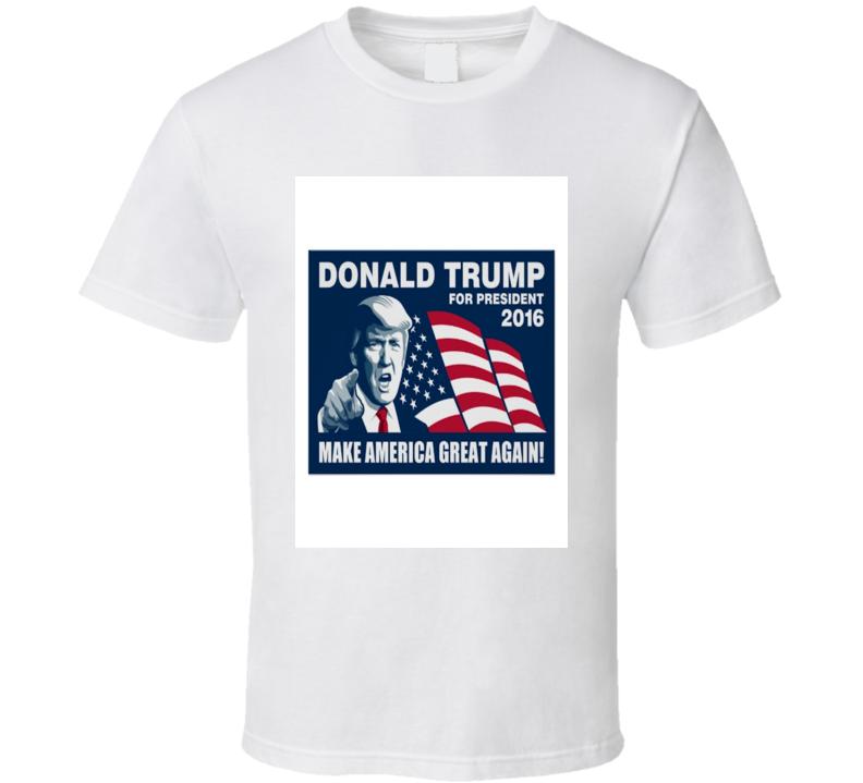 Donald Trump President 2016 T-shirt
