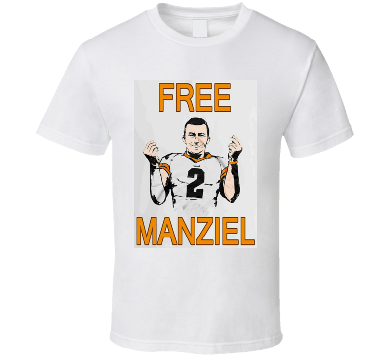 Free Manziel Johnny Football T-shirt