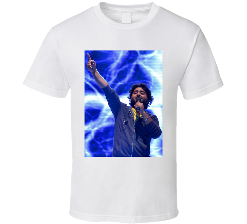 Arijit Singh Indian Playback Singer Bollywood Tshirt