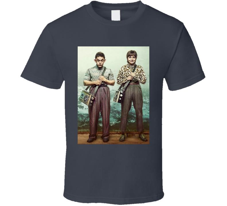 PK Indian Movie Aamir Khan Anushka Sharma T-Shirt