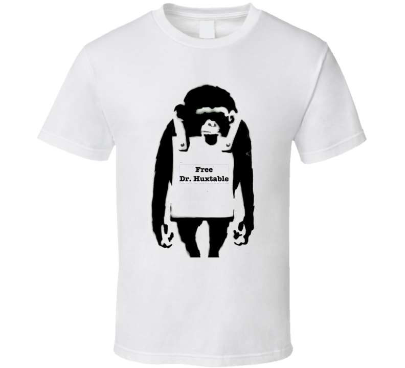 Free Dr Huxtable Bill Cosby Banksy Print T-Shirt