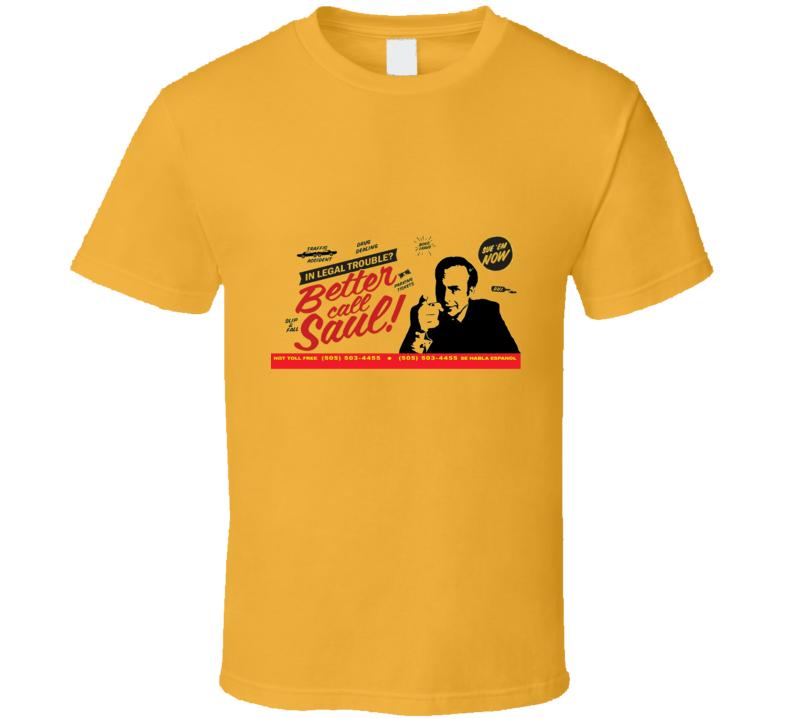 Better Call Saul Goodman Retro T-Shirt
