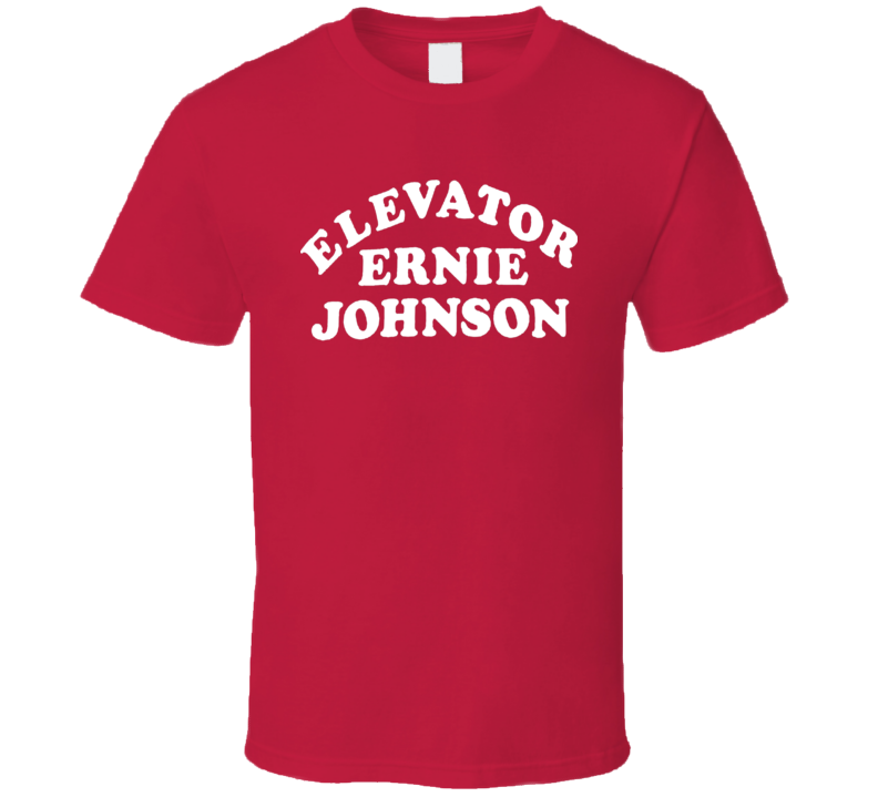 Elevator Ernie Johnson Basketball T Shirt