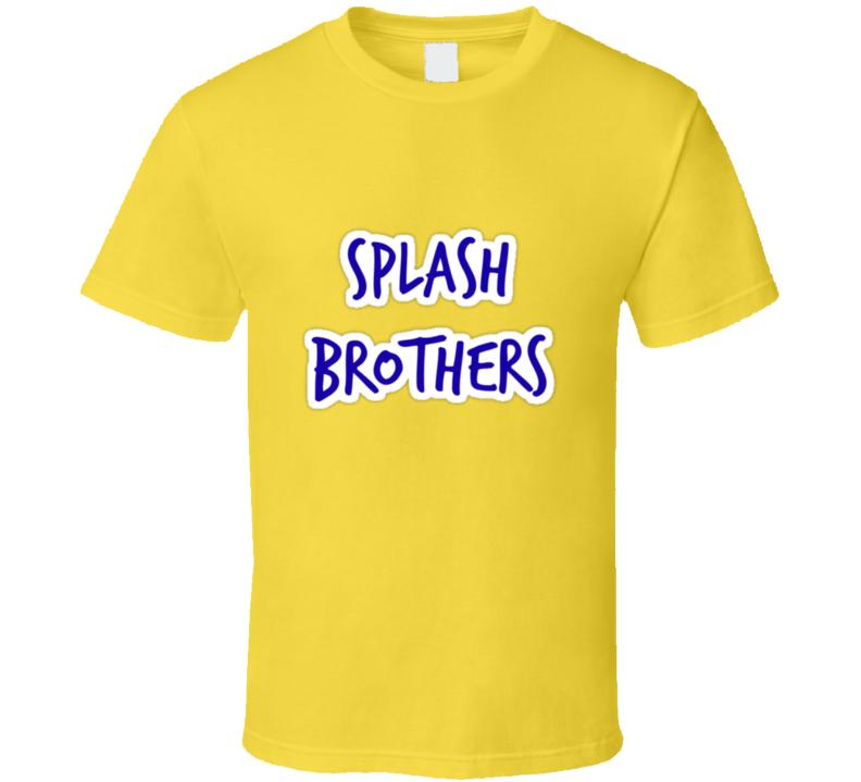 Splash Bros Warriors Curry Klay Tshirt