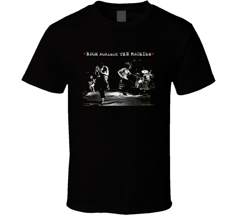 Rage Against the Machine 90s Throwback T Shirt