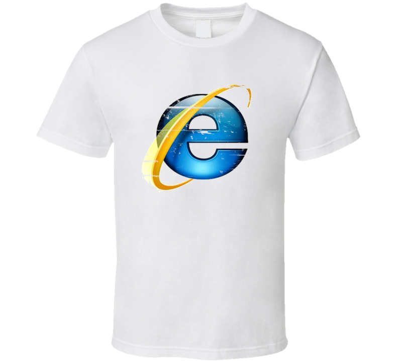 Internet Explorer 90s Throwback T Shirt