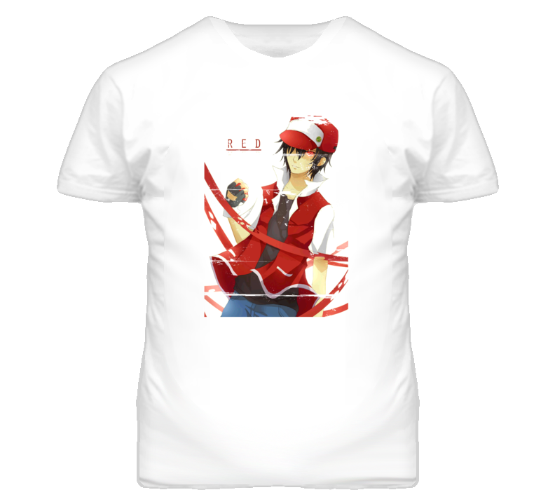 fa5279e9 Pokemon Red Blue 90s Throwback T Shirt