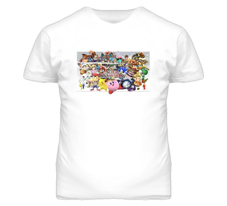 Super Smash Bros 90s Throwback T Shirt