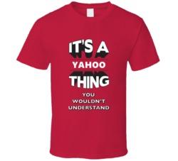 Its A Yahoo Thing Techie T Shirt