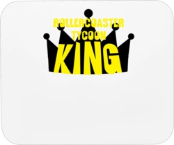 Rollercoaster Tycoon King Sports And Hobbies Master Mousepad