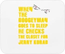 Jerry Korab New York Buffalo Hockey Sports Boogeyman Mousepad