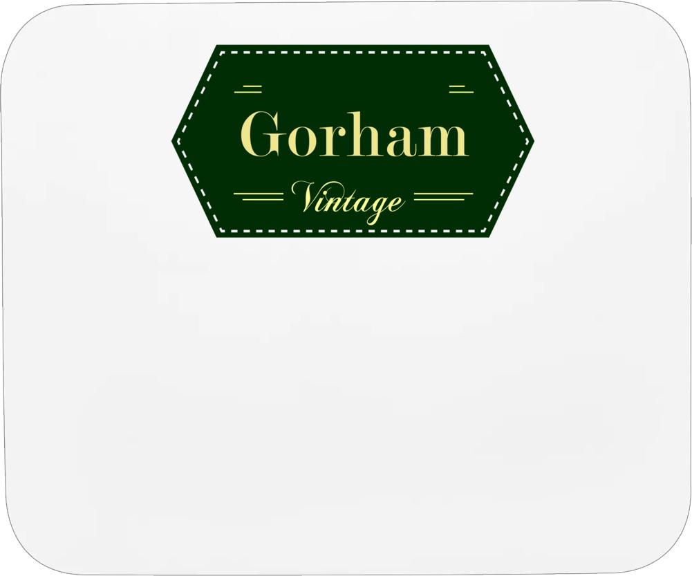 Gorham Vintage Label Name T Shirt