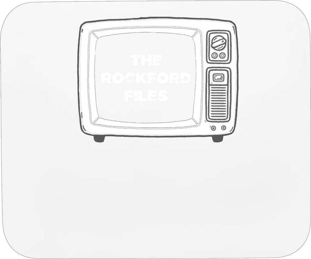 The Rockford Files Tv Show Mousepad