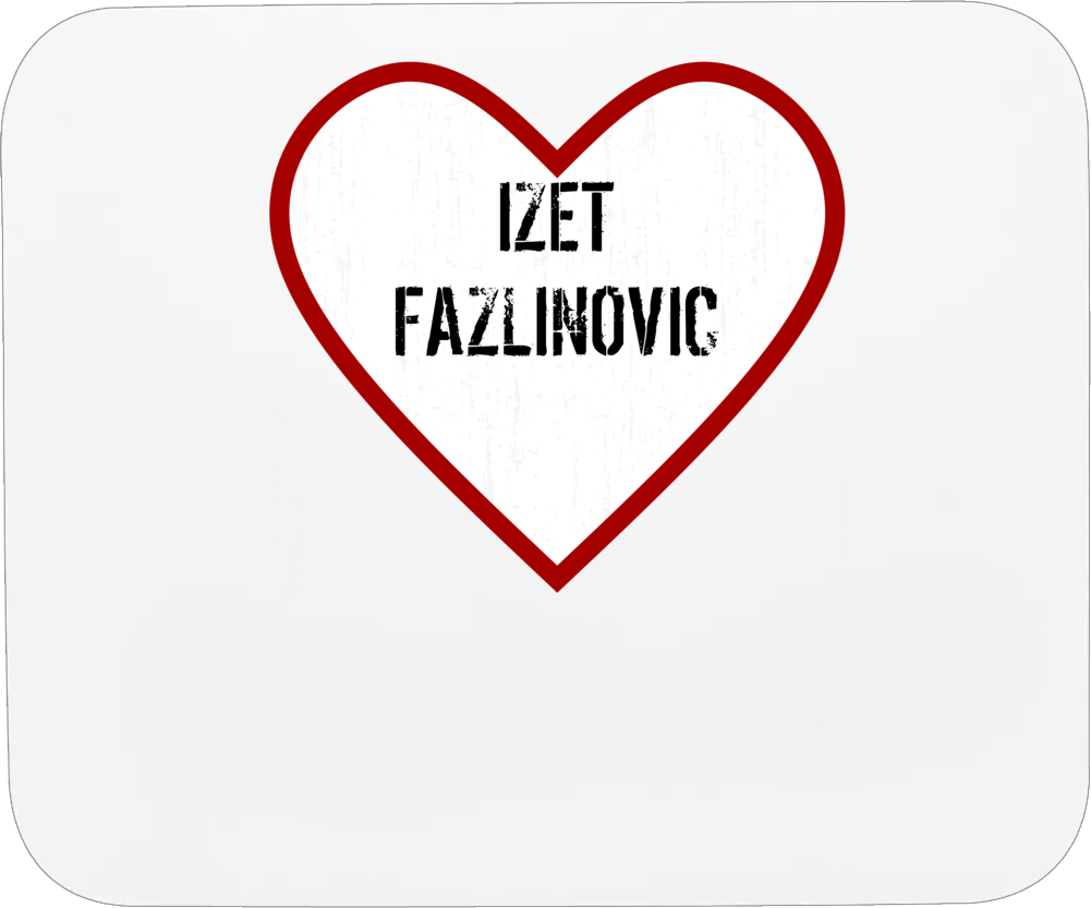 Izet Fazlinovic Lud Zbunjen Normalan Love Tv Character Mousepad