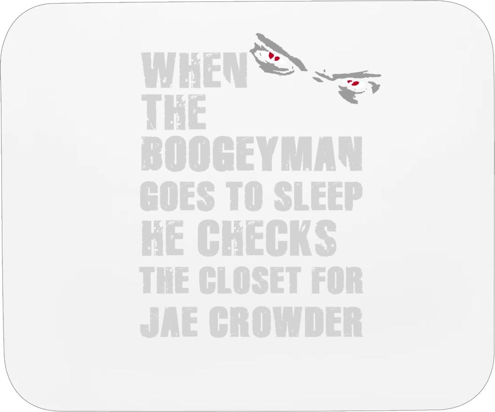 Jae Crowder Boogeyman Dallas Texas Sports Basketball Mousepad