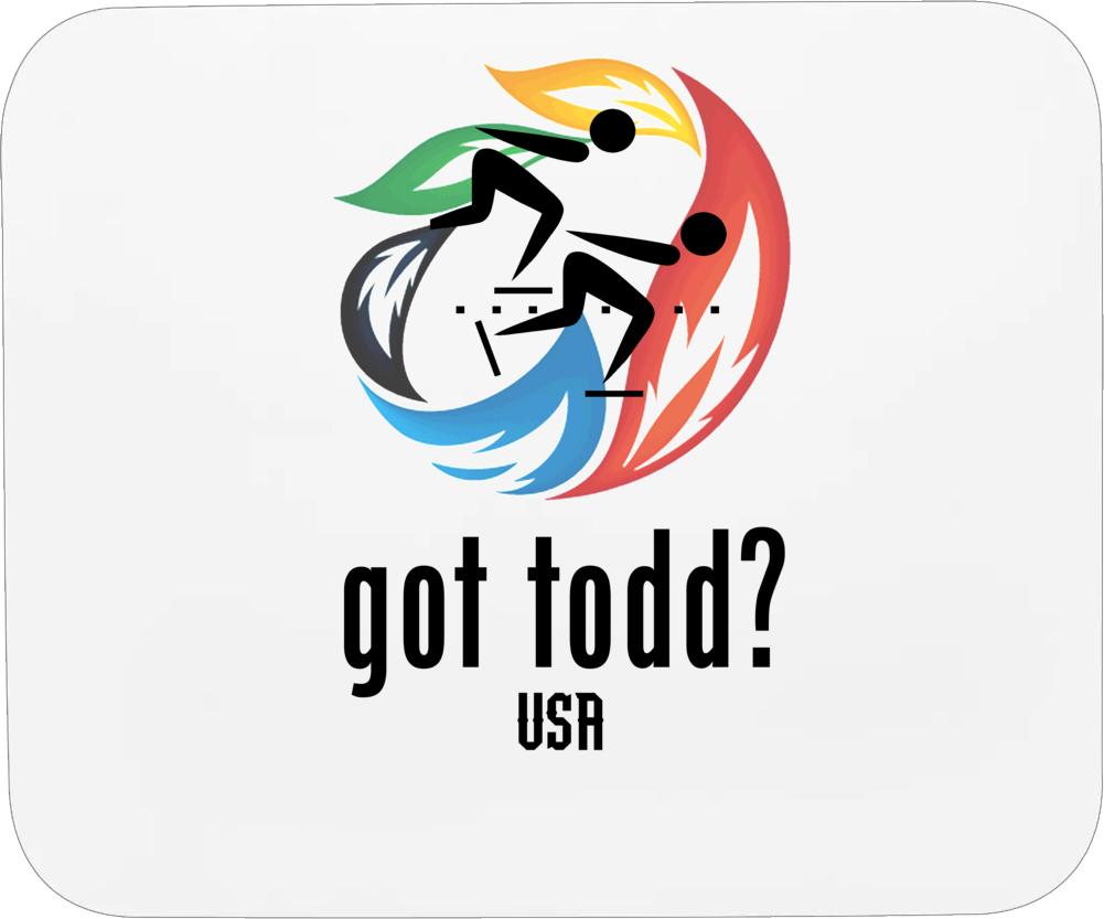 Sugar Todd Usa Speed Skating Mousepad