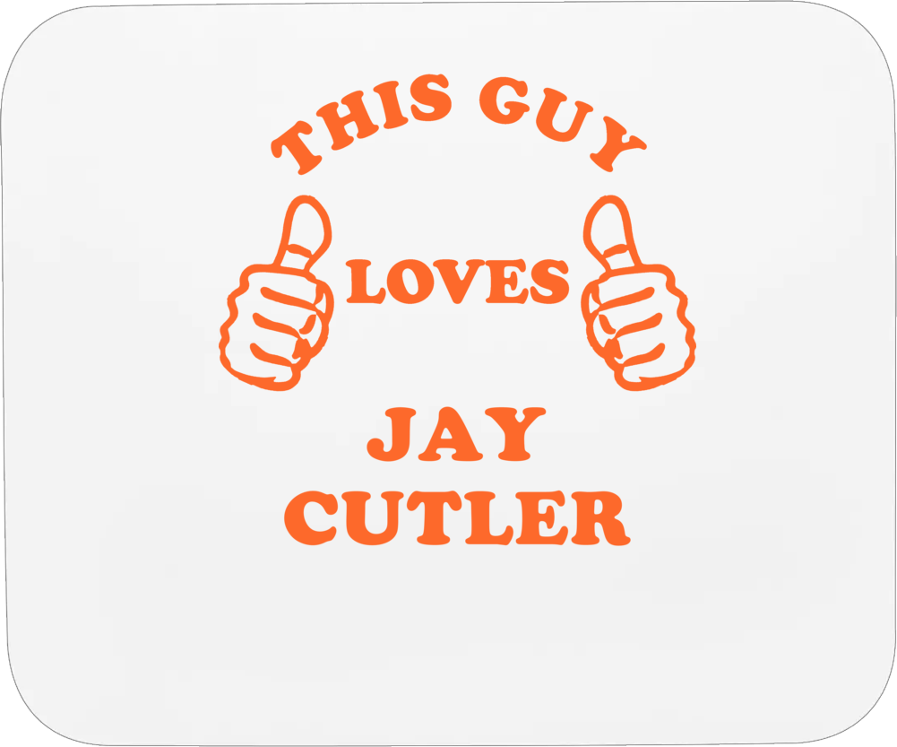 This Guy Loves Jay Cutler  Chicago Football Mousepad