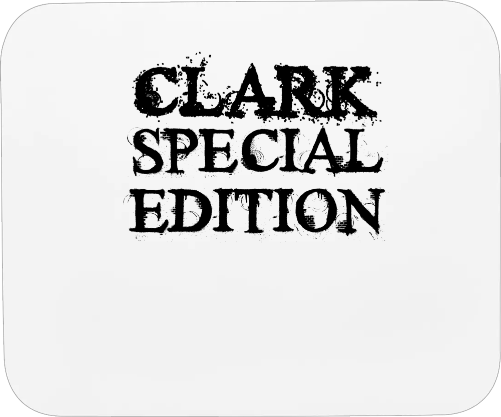 Clark Special Edition Name Mousepad