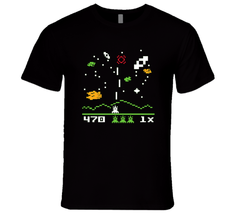Sheldon Cooper Big Bang Theory Astrosmash Intellivision T Shirt