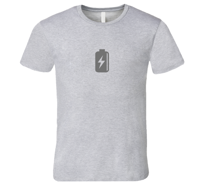Silicon Valley Low Battery T-Shirt