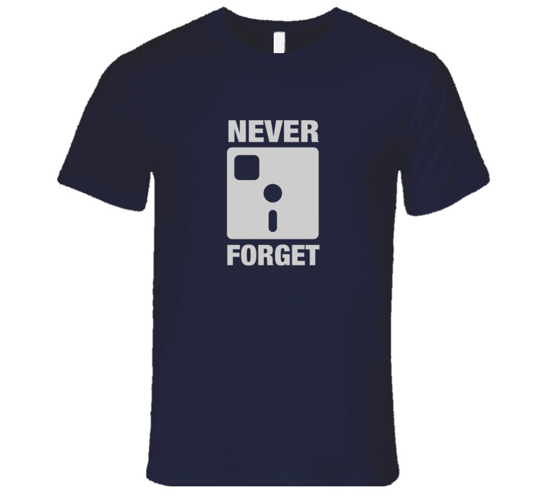 Silicon Valley Never Forget Floppy Disk T-Shirt Erlich Bachman T-Shirt HBO Silicon Valley Shirt
