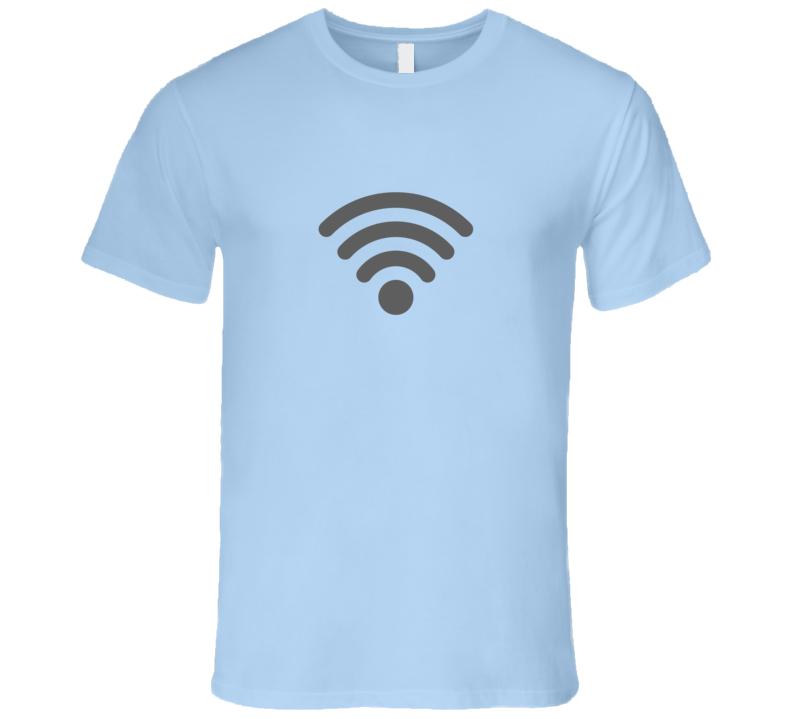 Wifi Wireless Light Technical T-Shirt Wifi Router