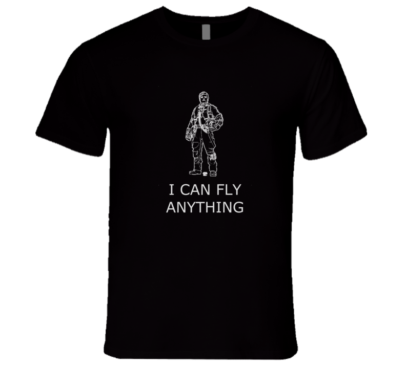 Poe Dameron I Can Fly Anything t-shirt Poe Dameron Quote tshirt