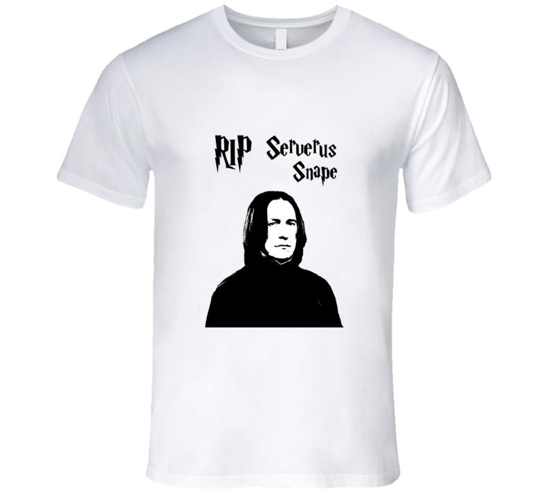 Serverus Snape RIP t-shirt Professor Snape RIP t shirt Harry Potter tshirt