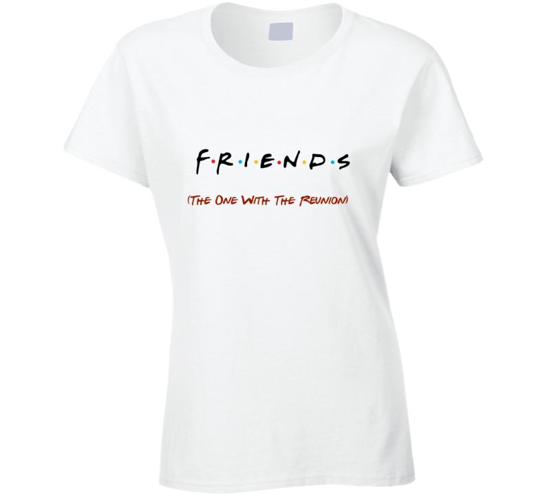 Friends reunion t-shirt Friends logo tshirt Friends t shirt