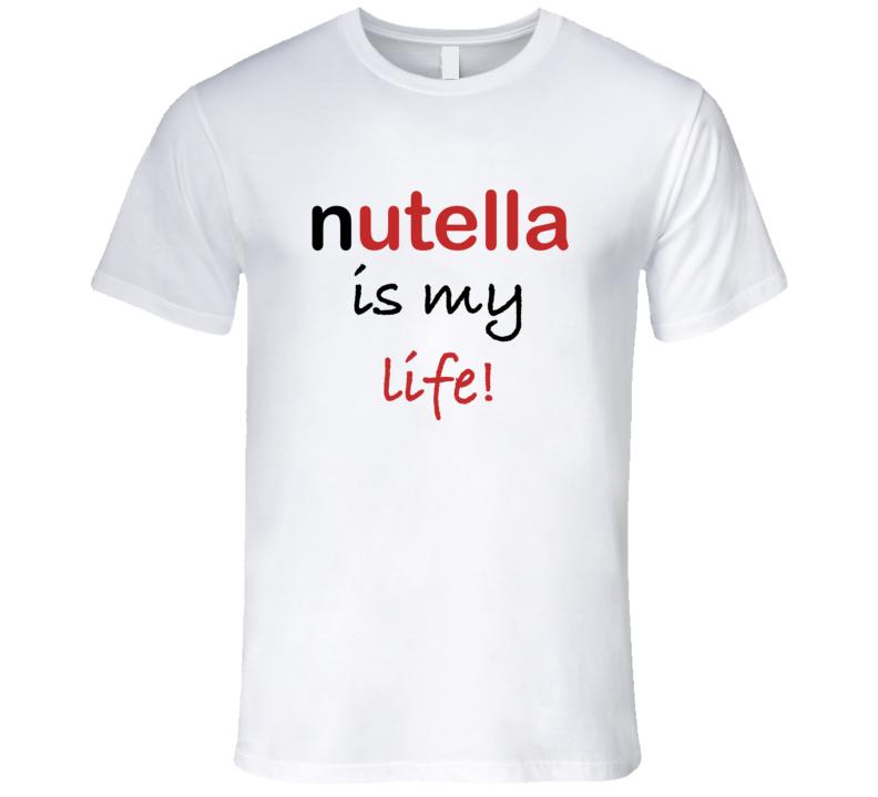 t shirt i love nutella