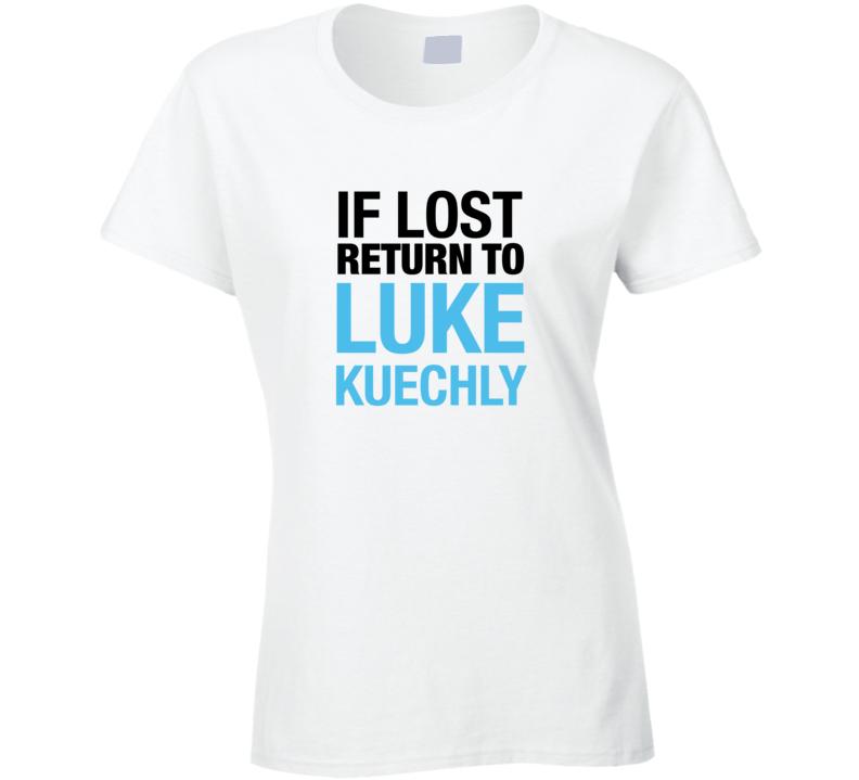 info for 48a2b c4c1c Luke Kuechly t-shirt If Lost Return to Luke Kuechly Carolina Panthers tshirt