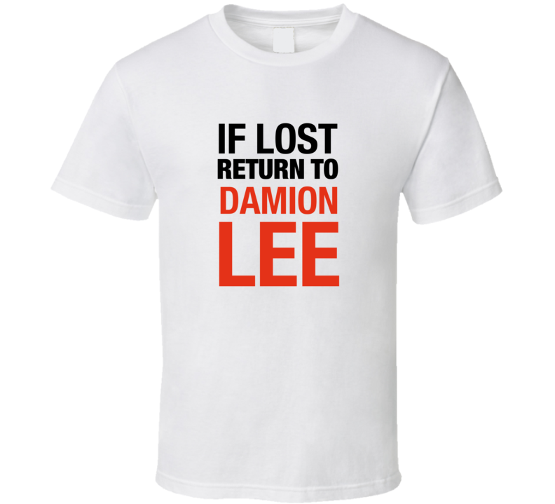 Damion Lee t-shirt If lost return to Damion Lee tshirt Louisville Cardinals tshirt