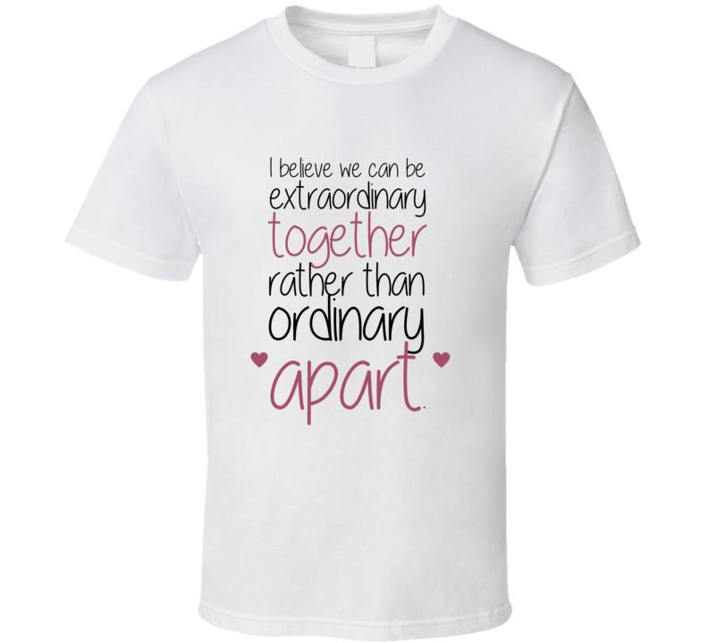 Greys Anatomy T Shirt Meredith And Derek T Shirt Greys Quote Tshirt