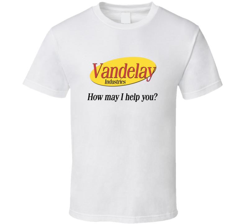 Seinfeld Vandelay Industries T-Shirt Krammer funny T-Shirt