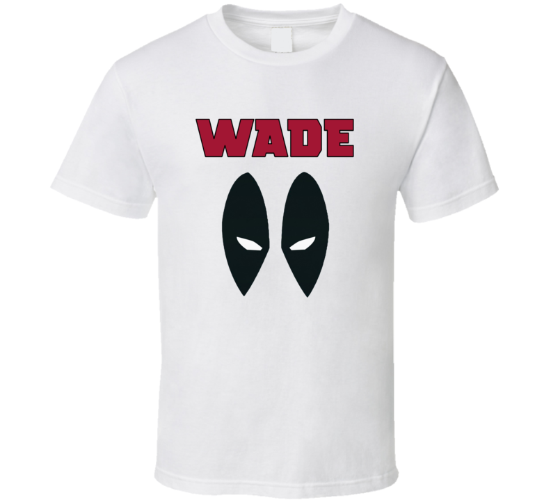 Wade Wilson Eyes t-shirt Deadpool eyes t shirt Marvel Comic white t shirt Deadpool Mask tshirt Red Wade