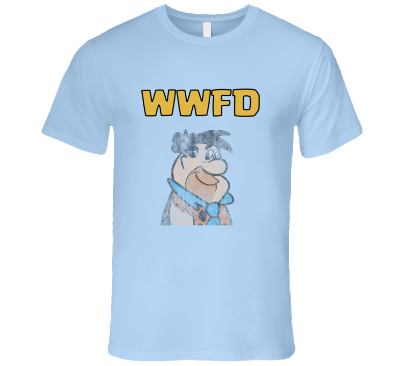 Fred Flintstone What would Fred Do T-Shirt WWFD T-Shirt
