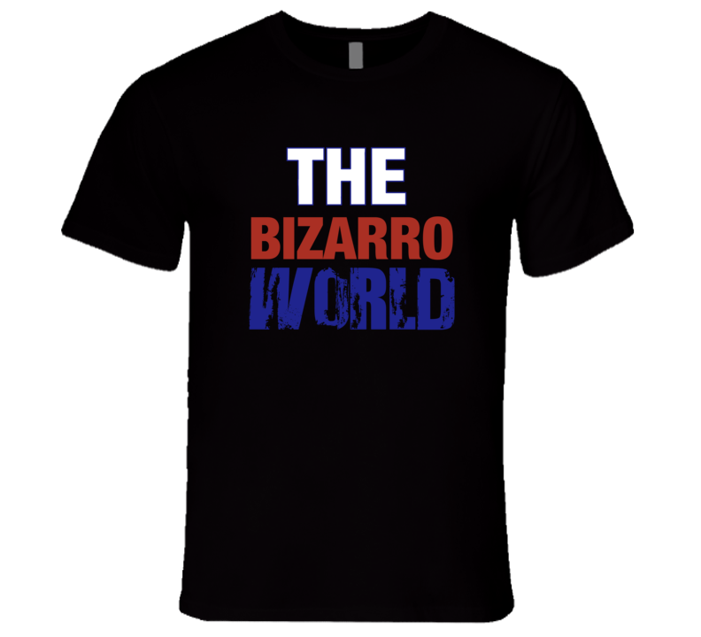 The Bizarro World Superman T-Shirt Seinfeld Bizarro World tshirt