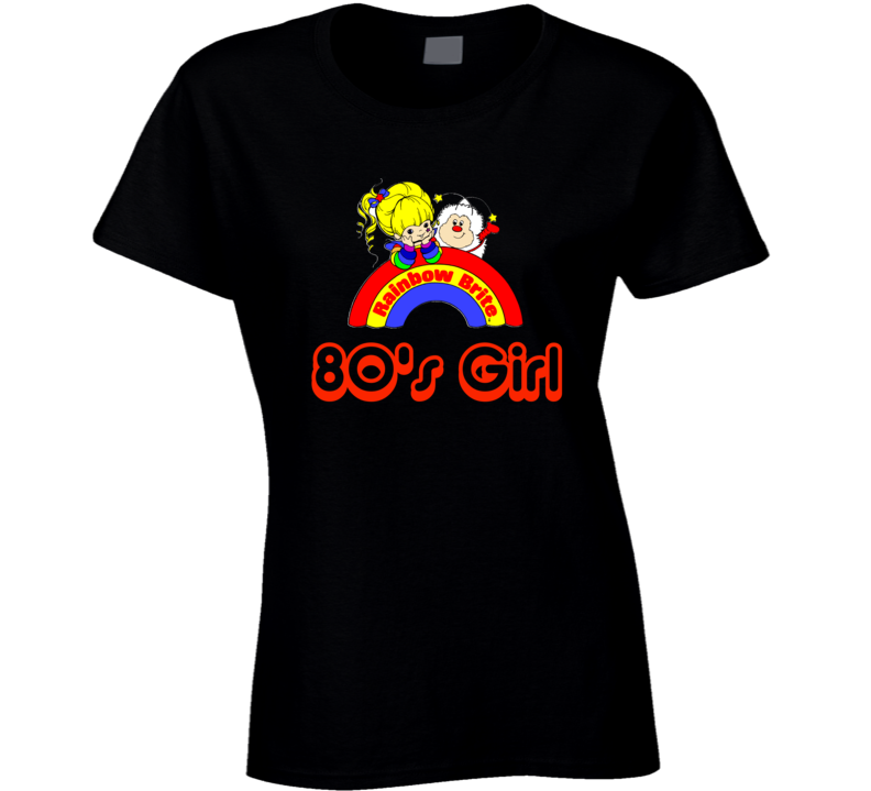 Rainbow Brite 1980's Girl T-Shirt Retro Cartoon 80's tshirt