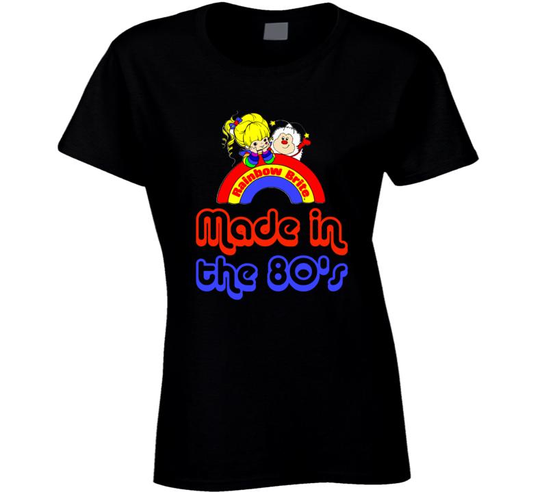 Rainbow Brite Made in the 80's retro cartoon 1980's T-Shirt