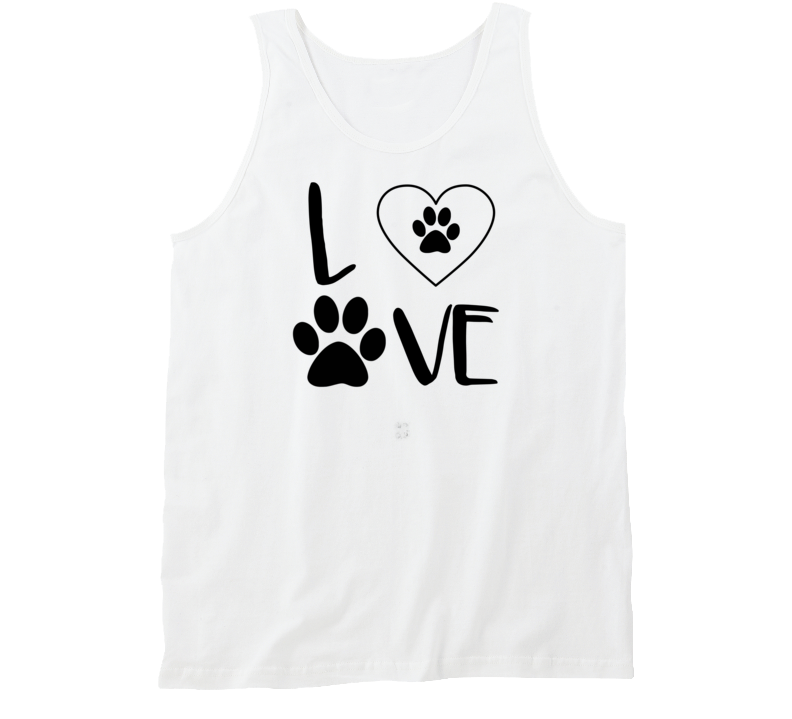 Dog Love I love Golden Retreivers Dog Owner Pride rescue Tank Top