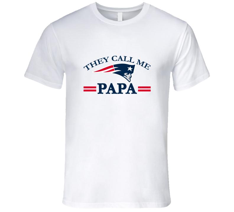 They Call Me Papa t-Shirt Football Grandfather shirt football grandpa tshirt