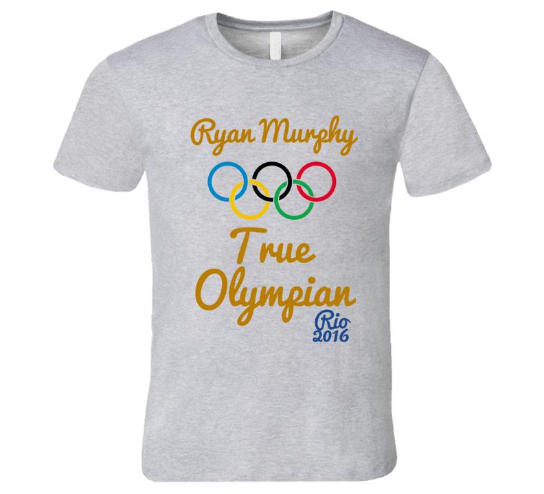 Ryan Murphy True Olympian USA Gold Medal Winner Rio 2016 Swimming T-Shirt