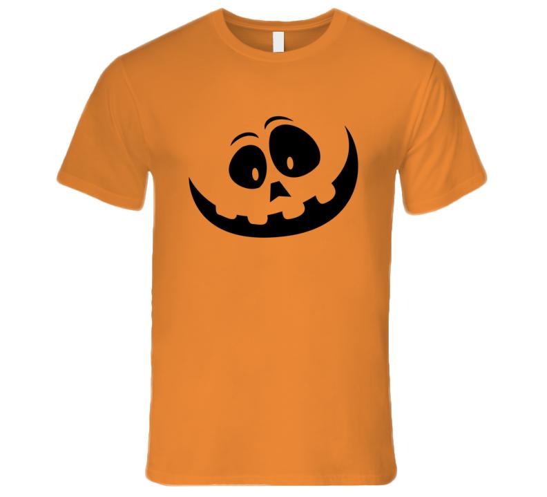 Jack O Lantern Pumpking Face T-Shirt