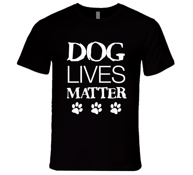 Dog Lives Matter T-Shirt Rescue Dog Lover T-Shirt
