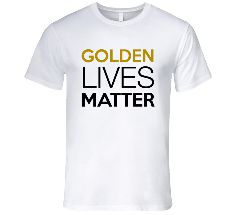 Golden Lives Matter T-Shirt Golden Retriever Rescue T-Shirt